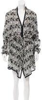 Ann Demeulemeester Silk Sheer Dress