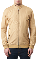 Pretty Green Dalton Slim Fit Harrington Jacket, Khaki