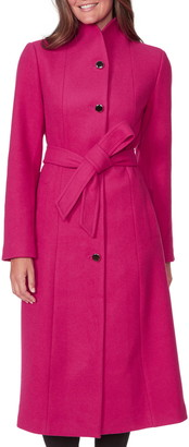 Kate Spade Belted Wool Blend Coat