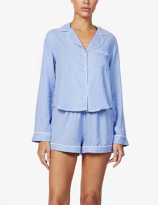 Rails Kellen rayon and linen-blend pyjama set