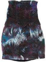 Cynthia Rowley Strapless Mini Dress