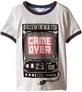 Little Marc Jacobs Jersey Tee Shirt Game Over (Toddler/Little Kids)