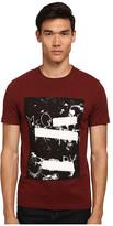 McQ by Alexander McQueen Short Sleeve Logo Print Crew Neck T-Shirt