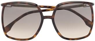 Fendi Eyewear Oversized-Frame Sunglasses