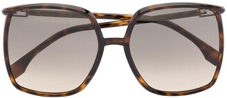 Fendi Oversized-Frame Sunglasses
