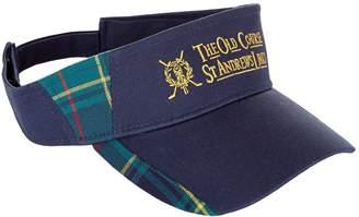 Harrods St Andrews Tartan Golf Visor