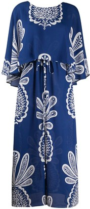 La DoubleJ Bain Douche pineapple print dress