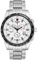 Swiss Military Hanowa Crusader Chronograph Watch Silberfarben/weiß