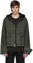 Fluxus Stay Made Reversible Grey Hooded Jacket