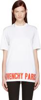 Givenchy White Logo T-shirt
