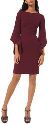 Michael Kors Wool-Blend Sheath Dress