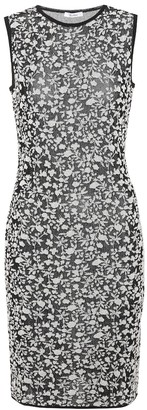 Max Mara Park floral jacquard dress