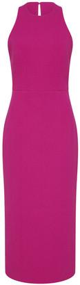 Rebecca Vallance Amina Cutout Ponte Midi Dress