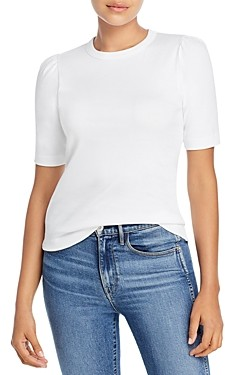 Dolan Crewneck Puff Sleeve Top