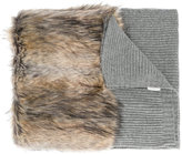 Stella McCartney faux fur scarf - women - Artificial Fur/Modacrylic/Polyamide/Virgin Wool - One Size