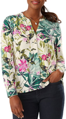 Tommy Bahama Starlight Canyon Silk Blouse