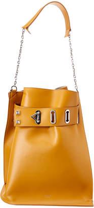 Salar Milano Twist Basic Leather Shoulder Bag
