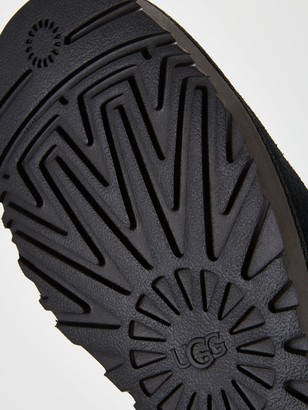 UGG Classic Femme Hidden Wedge Mini Ankle Boots - Black