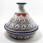 Le Souk Ceramique Tabarka 1.5 Qt. Ceramic Round Tagine
