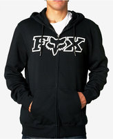 Fox Men's Graphic-Print Zip Up Hoodie