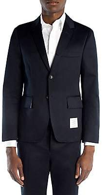 Thom Browne Men's Cotton Twill Unconstructed Blazer