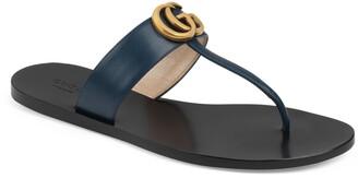 Gucci GG T-Strap Sandal