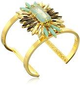 Vince Camuto Stone Cluster Drama Cuff Bracelet