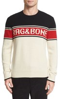 Rag & Bone Matthew Merino Wool Logo Sweater