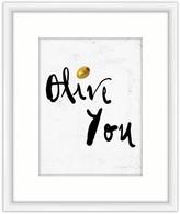 PTM Images Olive You Framed Giclee - 18 x 22