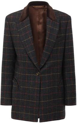 BLAZÉ MILANO Check Wool Jacket
