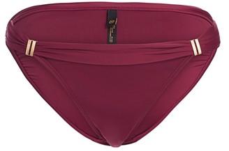 Vix By Paula Hermanny Burgandy Tube Bikini Bottoms