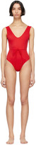 Solid And Striped Solid and Striped Red The Michelle One-Piece Swimsuit