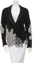 Chanel Lace-Trimmed Cardigan
