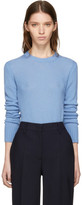 Prada Blue Cashmere Sweater