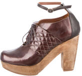 Rachel Comey Lace Up Ankle Booties