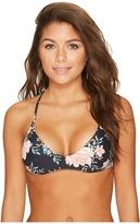 Billabong Let It Bloom Trilet Bikini Top Women's Swimwear