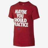 "Nike Practice More"" Big Kids' (Boys') T-Shirt (XS-XL)"