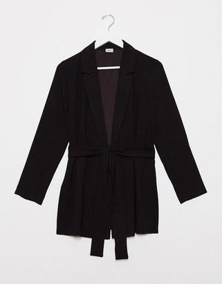 Pimkie blazer in black