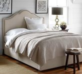 Pottery Barn Headboard & Platform Storage Bed
