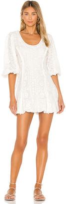 LoveShackFancy Hampton Mini Dress