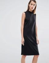 Selected Coda High Neck Shift Dress