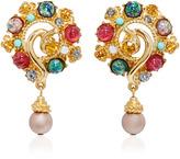 Ben-Amun Ben Amun Boho Chic Multi-Stone Earrings