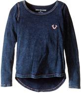 True Religion TR Buddha Long Sleeve Tee Shirt (Toddler/Little Kids)