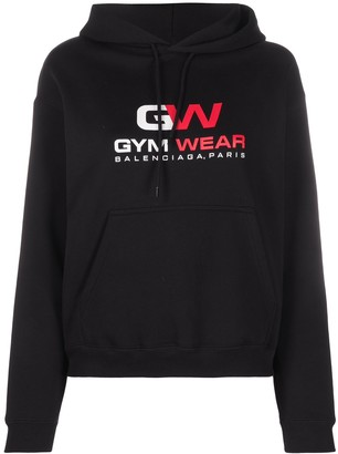 Balenciaga Gym Wear small fit hoodie