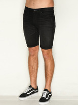 City Beach Quiksilver Distortion Black Rinse Shorts