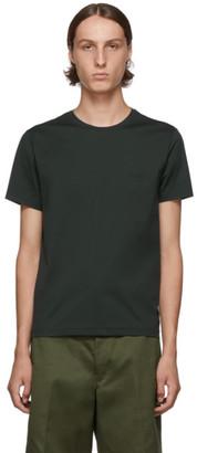 Prada Green Stretch Logo T-Shirt
