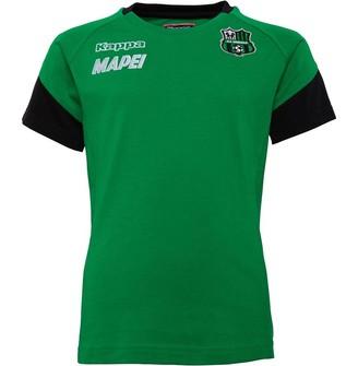 Kappa Junior Boys US Sassuolo Ayba Training Top Green/Black