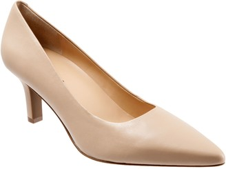Trotters Simple Leather Pumps - Noelle
