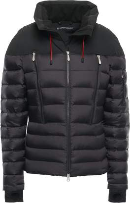 Perfect Moment Quilted Shell Hooded Down Jacket