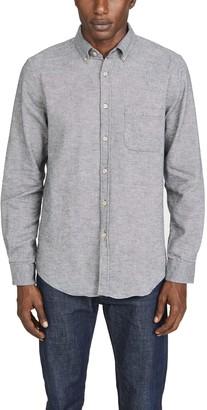 Melange Home Portuguese Flannel Teca Flannel Button Down Shirt